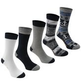 Soulcal 5 Pack Socks By Soulcal