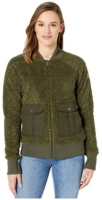 Fjallraven Greenland Pile Fleece (Deep Forest) Women's Fleece