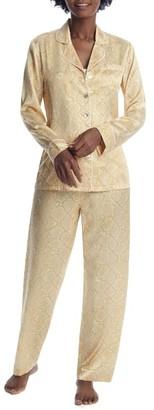 Ginia Serpentine Silk Pajama Set