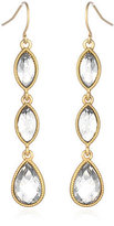 Schiff Marlyn Single Drop Earrings, Crystal