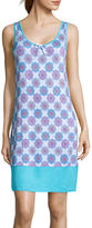 Jasmine Rose Sleeveless Print Nightgown