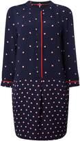 Joules Long sleeves v neck dot print tunic