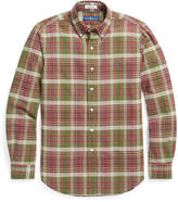 Ralph Lauren Slim Fit Cotton Madras Shirt