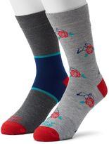 Men's Funky Socks 2-pack Winning Rose Derby Socks