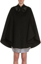 Burberry Women's Embellished Wool Cape