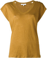 IRO V neck top - women - Linen/Flax - XS