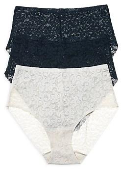 TC Fine Shapewear Lace Brief, Pack of 3