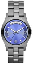 Marc by Marc Jacobs Baby Dave Gunmetal Blue Dial Watch MBM3233