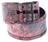 Helmut Lang Leather Waist Belt