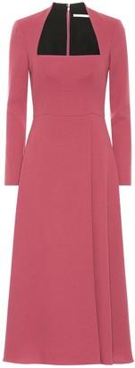Emilia Wickstead Glenda wool crApe dress