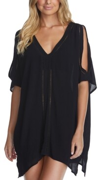 Thumbnail for your product : Raisins Juniors' Solid Samba Caftan Cover-Up Women's Swimsuit