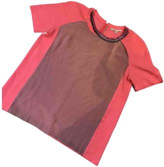 Maje Orange Cotton Top for Women