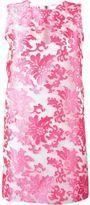 Versace baroque jacquard sheer dress - women - Polyester/Spandex/Elastane/Viscose - 46