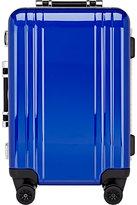 "Zero Halliburton Men's Polycarbonate Classic 22"" Carry-On Spinner Trolley"