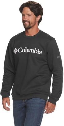 Columbia Men's Logo Crewneck Pullover