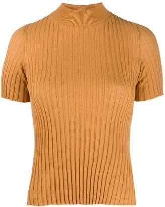 Nanushka turtleneck ribbed-knit top