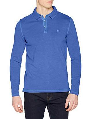 Marc O'Polo Men's 920223655046 Polo Shirt, (Victoria Blue 839), M