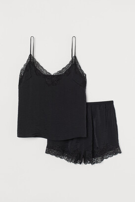H&M Pajama Camisole and Shorts