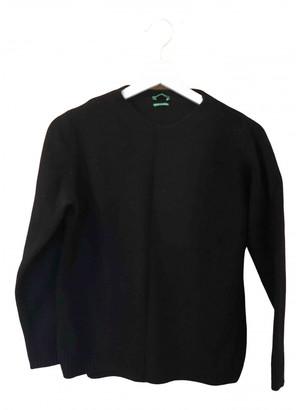 Benetton Black Wool Tops