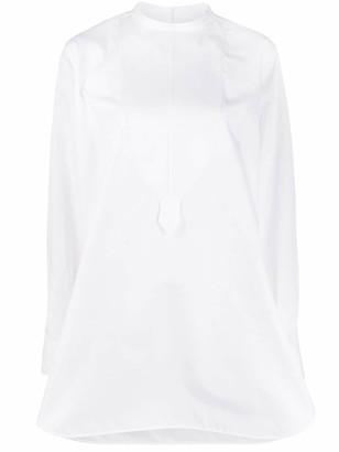 Jil Sander Saturday bib shirt