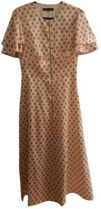 ALEXACHUNG Alexa Chung Ecru Polyester Dresses