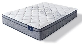 "Serta Elkins 11"" Plush Innerspring Mattress Mattress Size: Twin XL"