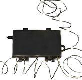 Kurt Adler Waterproof LED Warm White Christmas Wire Lights - Indoor & Outdoor