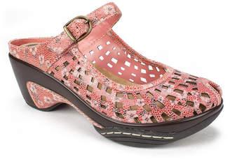 White Mountain Marvy Peep Toe Mules Women Shoes