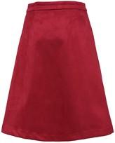 Frnch Exposed Zip Skirt