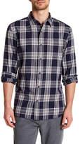 Joe Fresh Regular Fit Long Sleeve Flannel Dress Shirt