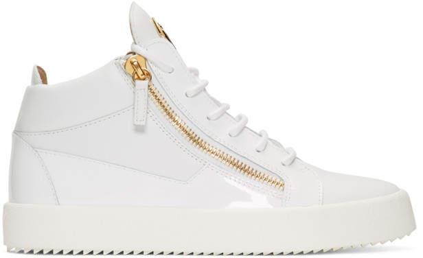 Giuseppe Zanotti White Kriss Sneakers