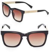 MinkPink 47MM Wayfarer Sunglasses