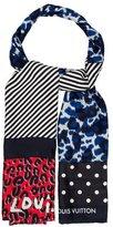 Louis Vuitton Leopard Jacquard Stole