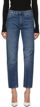 Totême Blue Washed Original Jeans