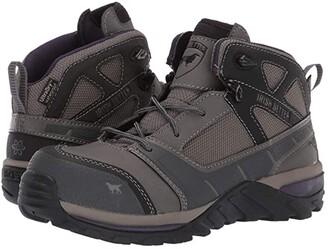 Irish Setter Rockford 5 Non-Metallic Toe (Grey/Purple) Women's Work Boots
