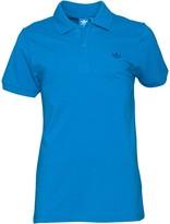 adidas Mens Trefoil Pique Polo Blue