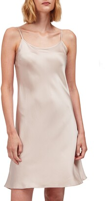 The White Company Sleeveless Silk Nightgown