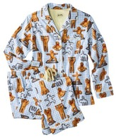 Nick & Nora Women's Pajama Coat Set - Gingerbread Yoga