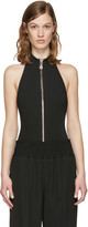 Versus Black High Neck Bodysuit
