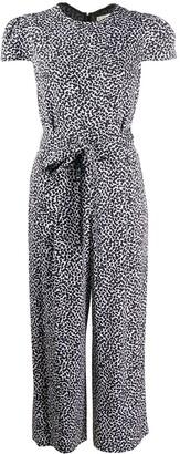 MICHAEL Michael Kors Mini Petal Print Cropped Jumpsuit