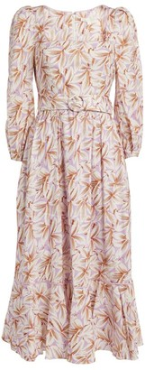 Jonathan Simkhai Ella Floral Midi Dress