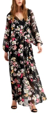 INC International Concepts Inc Floral-Print Maxi Dress, Created for Macy's