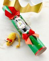 Caspari Cat Toy Christmas Cracker, Each