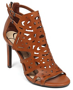 """Jessica Simpson Charlote"""" Cut-Out Dress Sandals - Light Luggage"""