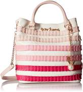 Betsey Johnson Pleats and Thank You Ns Tote
