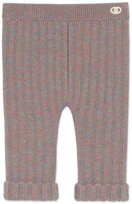 Gucci Baby wool mouline leggings