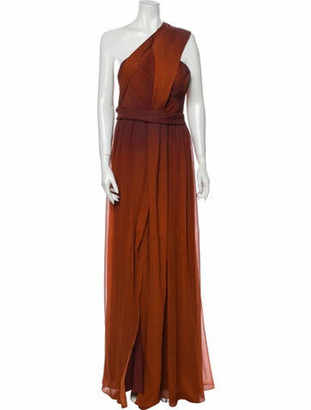 Narciso Rodriguez 2020 Long Dress Orange
