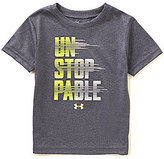 Under Armour Little Boys 2T-7 Unstoppable Short-Sleeve Tee