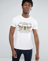 Levis Vintage Horses Print T-shirt