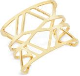 Vince Camuto Gold-Tone Openwork Cuff Bracelet